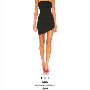 NBD Leslie mini dress